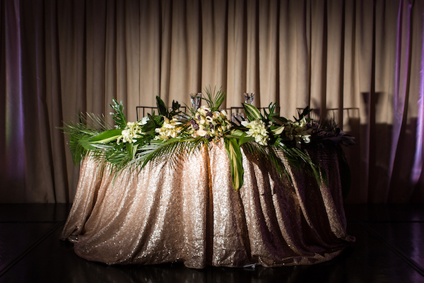 Tropical Sweetheart table. All photos by The Holding Company. All flowers by Flower Duet.