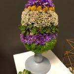 Flower Easter Egg by Flower Duet