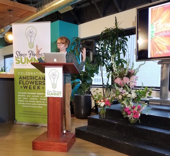 Amy Stewart, Author and Journalist at Slow Flowers Summit
