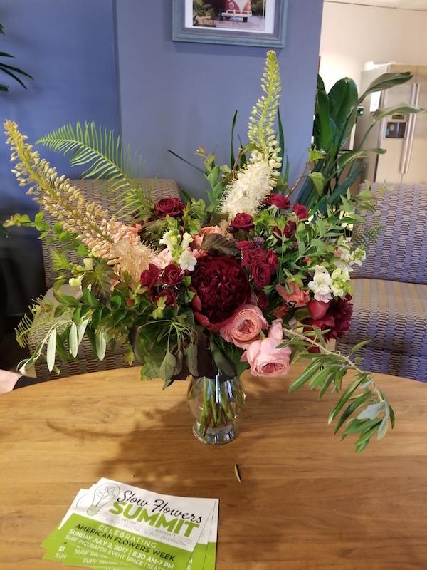 #slowflowerssummit bouquet