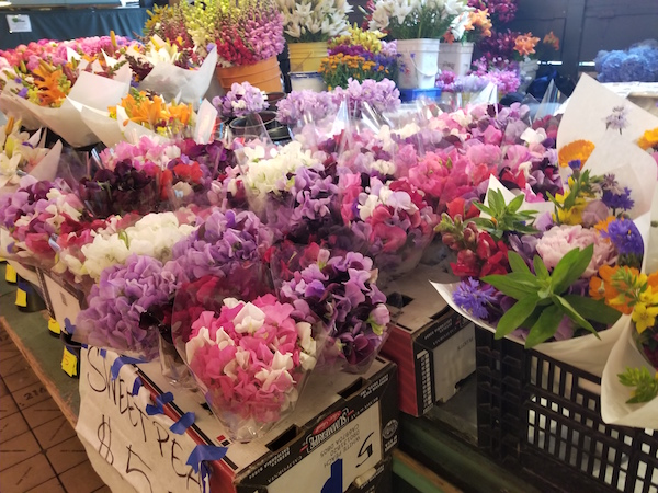 Sweet Peas at Pike Place