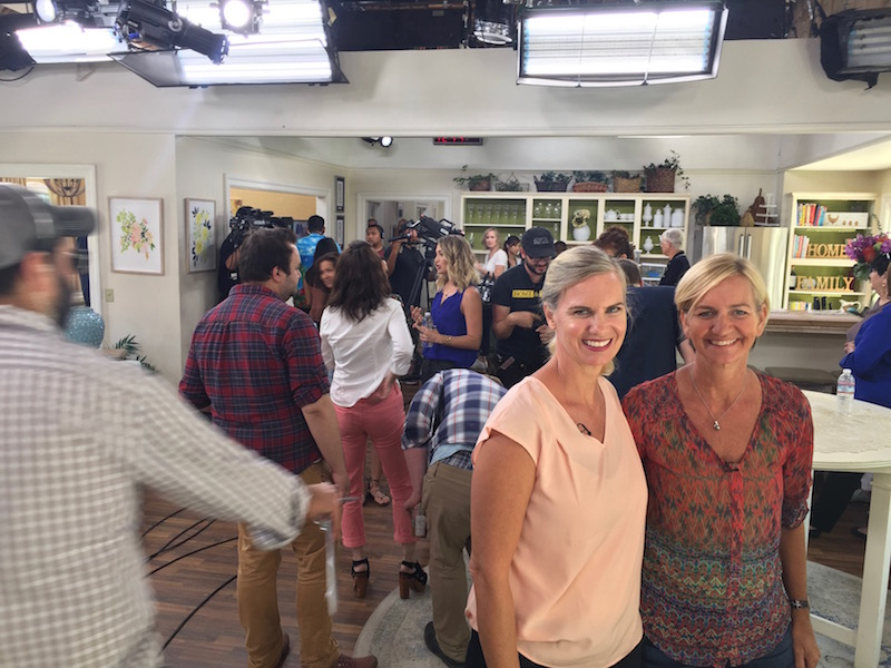 Kit and Casey on the Home and Family Show August 28 2017