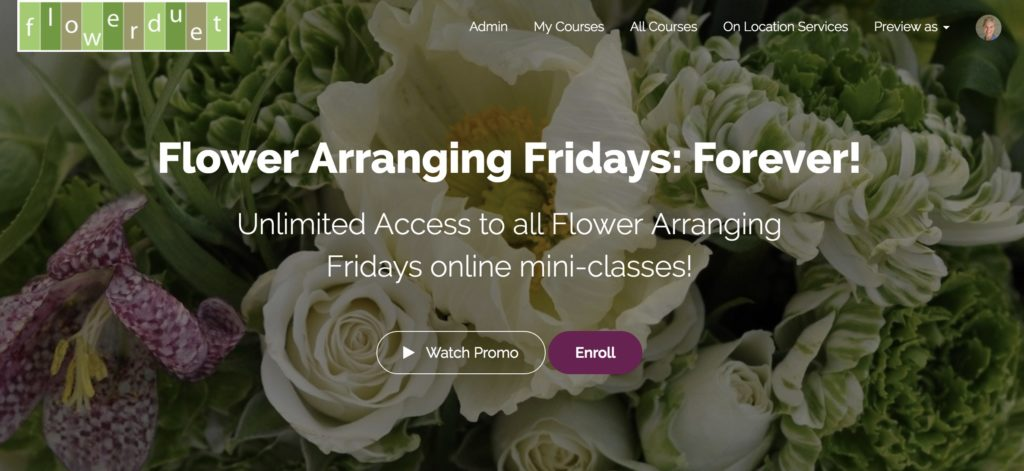 Flower Arranging Fridays