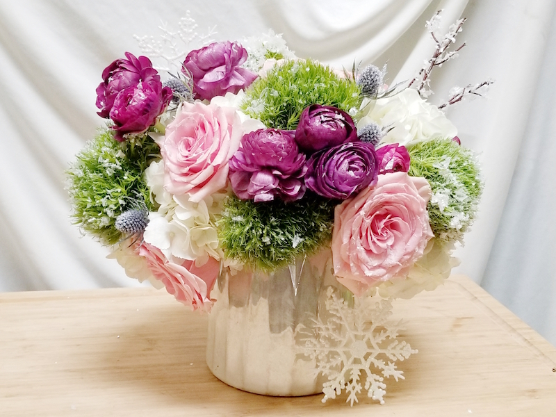 Ice Flower Design by Flower Duet