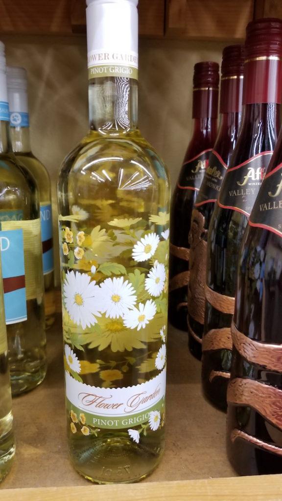 Flower Garden Wine at Cost Plus World Market - Photo by Kit Wertz.