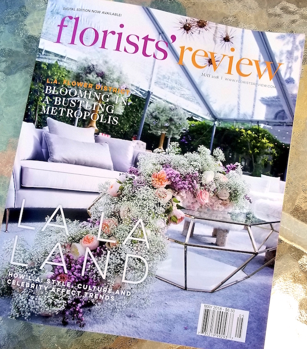 May 2018 Florists' Review Magazine Cover