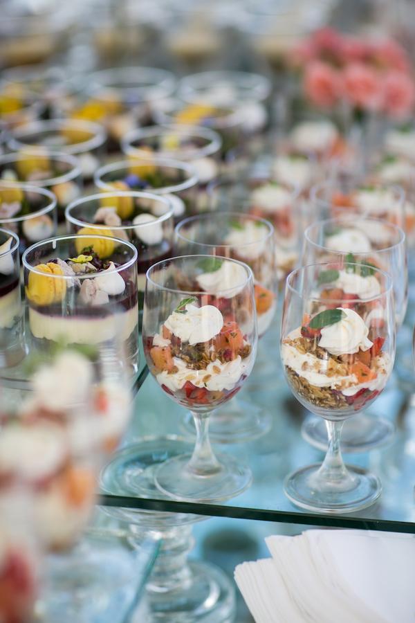 Fabulous brunch parfaits by Terranea.