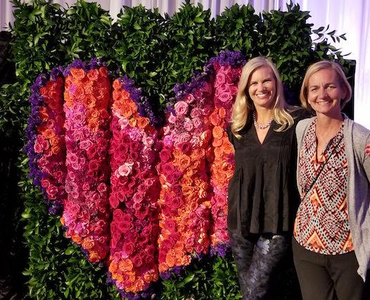 Graffiti Flower Wall by Flower Duet