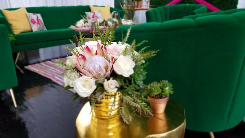 Protea floral design by Flower Duet