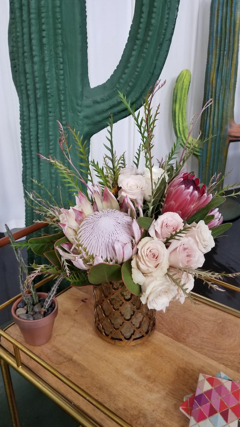 Palm Springs Wedding Flowers by Flower Duet