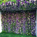 Flower Duet Flower Wall