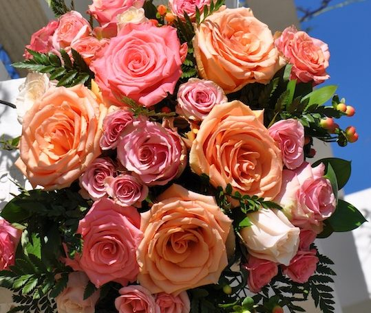 2019 Color of the Year Wedding Flowers by Flower Duet