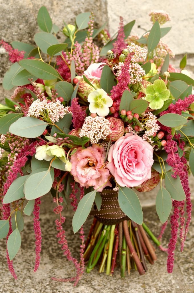 Fall Wedding Bouquet by Flower Duet