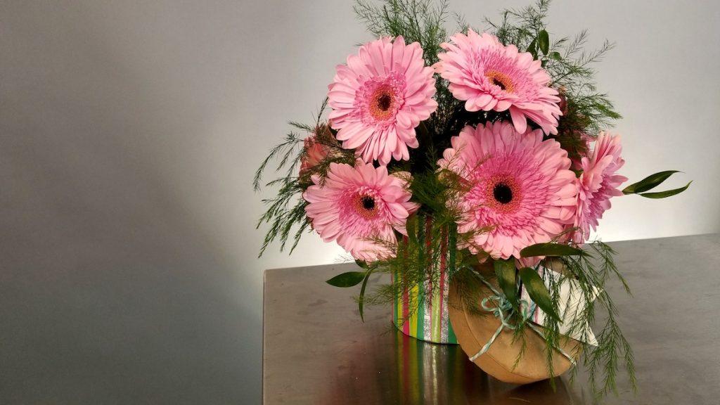 Pink Florals for October