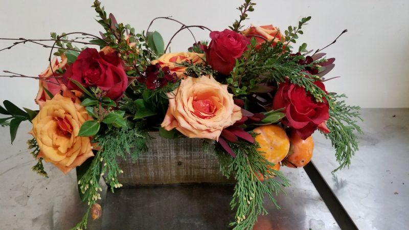 Fall Flowers by Flower Duet