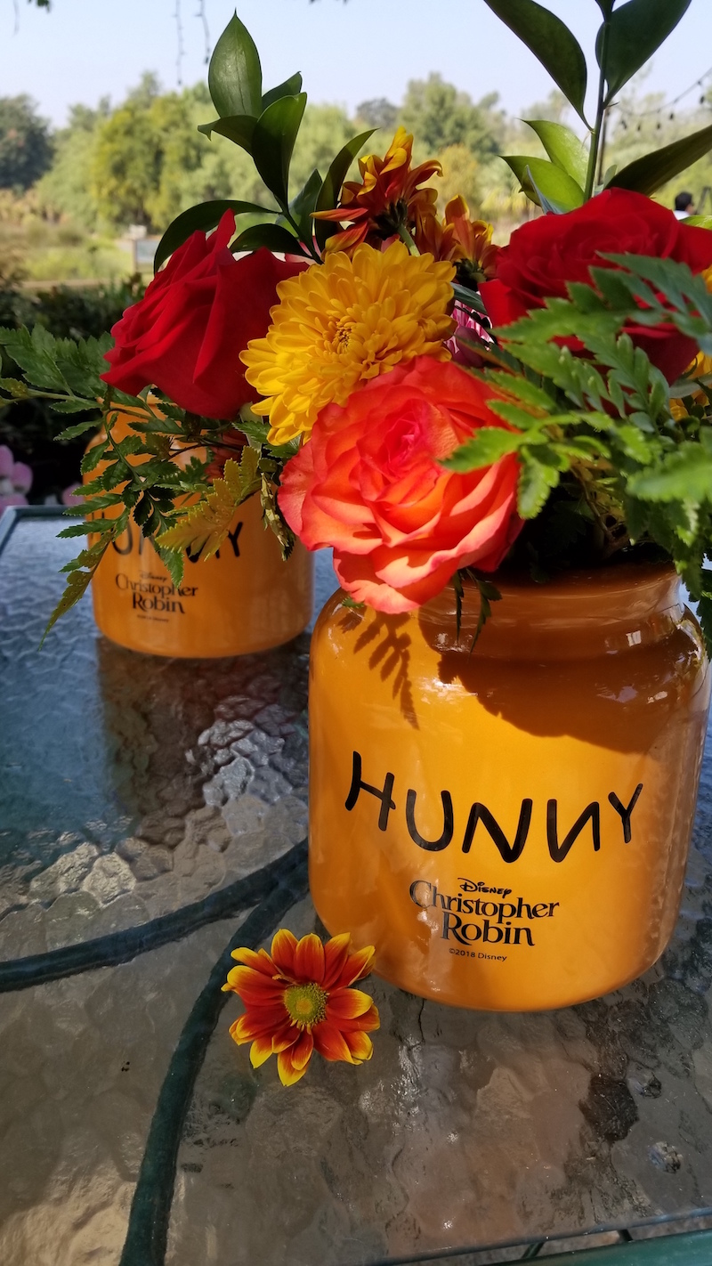 Hunny Pot Florals by Flower Duet for Disney