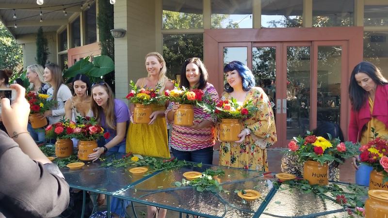 LA Arboretum Disney Press Junket
