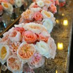 Coral Bridal Bouquets by Flower Duet
