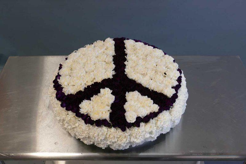 Peace Symbol Flowers