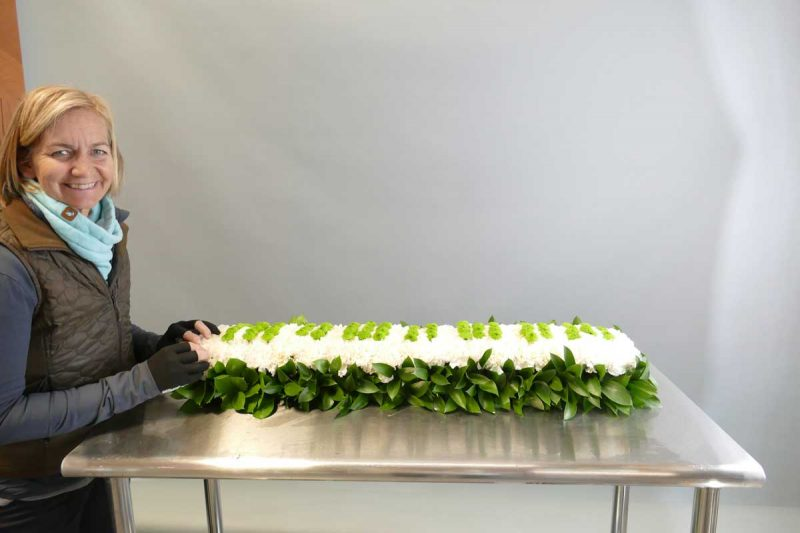 Green Book flowers