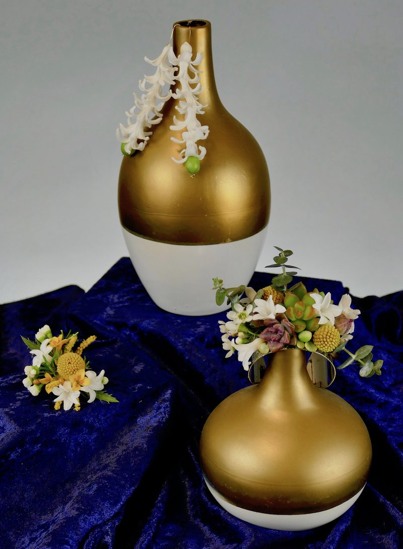 Living Flower Jewelry by Kit Wertz