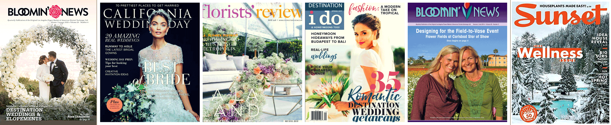 Flower Duet Has Been Featured in Many Magazines