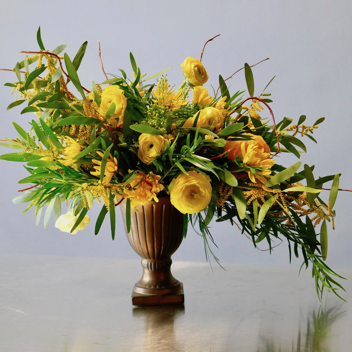 S Curve Flowers by Flower Duet