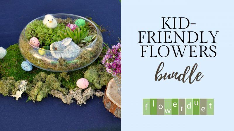 Kids Flower Classes for FREE