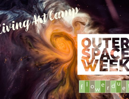 Galaxy Outer Space Wee: Living Art Camp