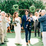 Bridal Couple married at York Manor
