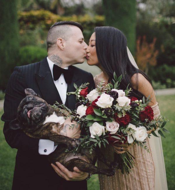 Elopement Wedding with Dog