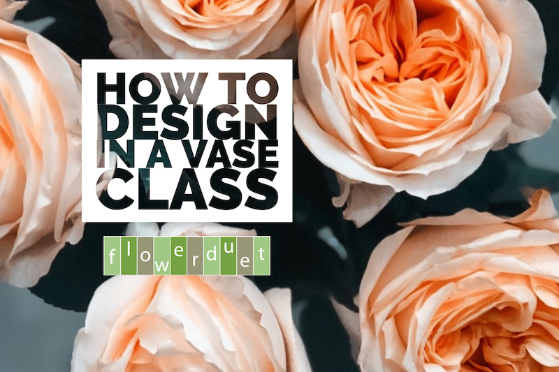 How to Design Flowers in a Vase
