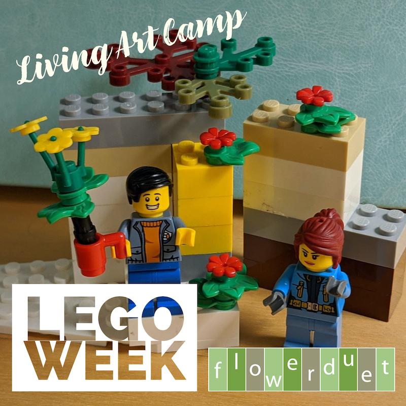 LEGO WEEK Living Art Camp