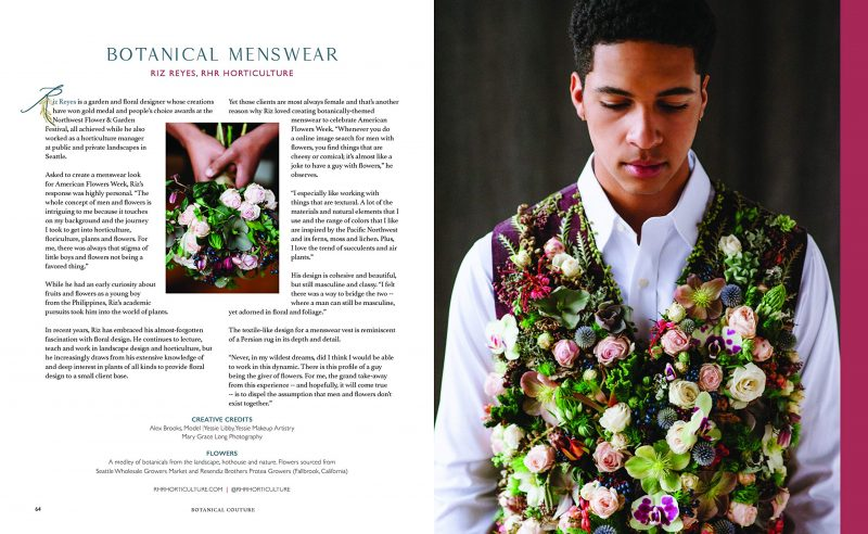 Riz Reyes Design from Slow Flowers