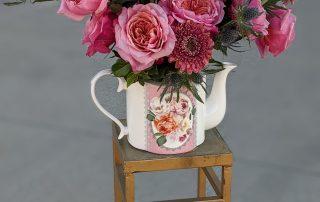 Garden Floral Teapot