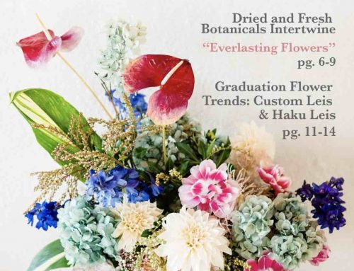 Kit Wertz of Flower Duet Writes Two Articles for the latest The Bloomin' News magazine