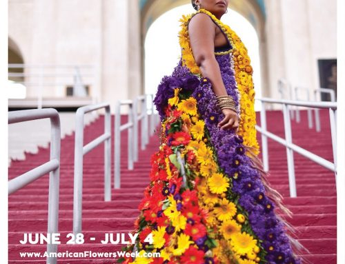 Flower Duet Teams Up with LA Flower Providers for the 2021 American Grown Flowers Week Botanical Couture Makers