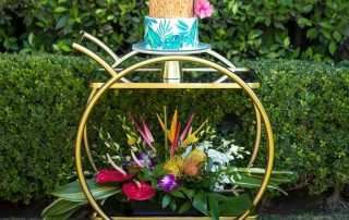 Tropical Birthday Flowers by Flower Duet