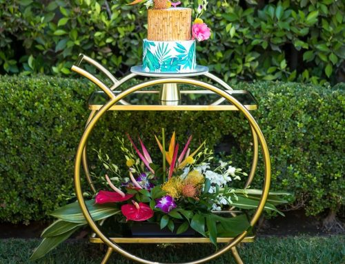 Summer Tropical Flowers Birthday Party