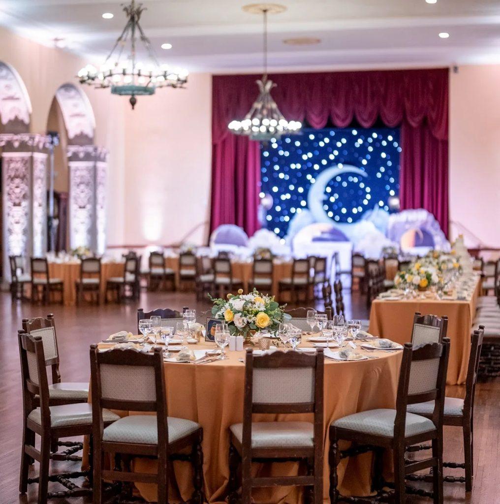 Moon theme wedding