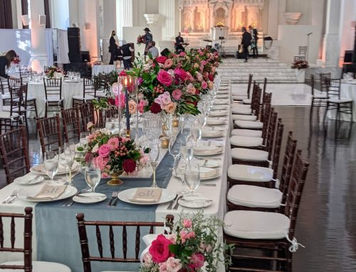 Real Wedding Flowers: Vibiana in Downtown Los Angeles