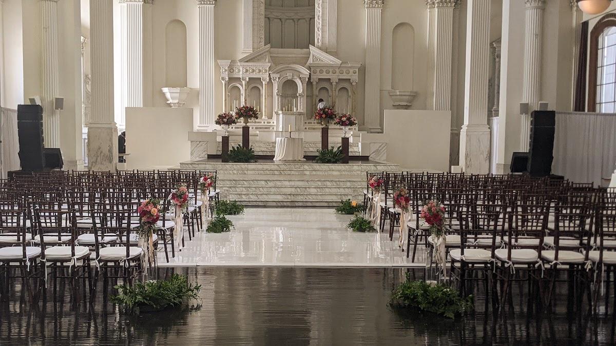 Vibiana ceremony