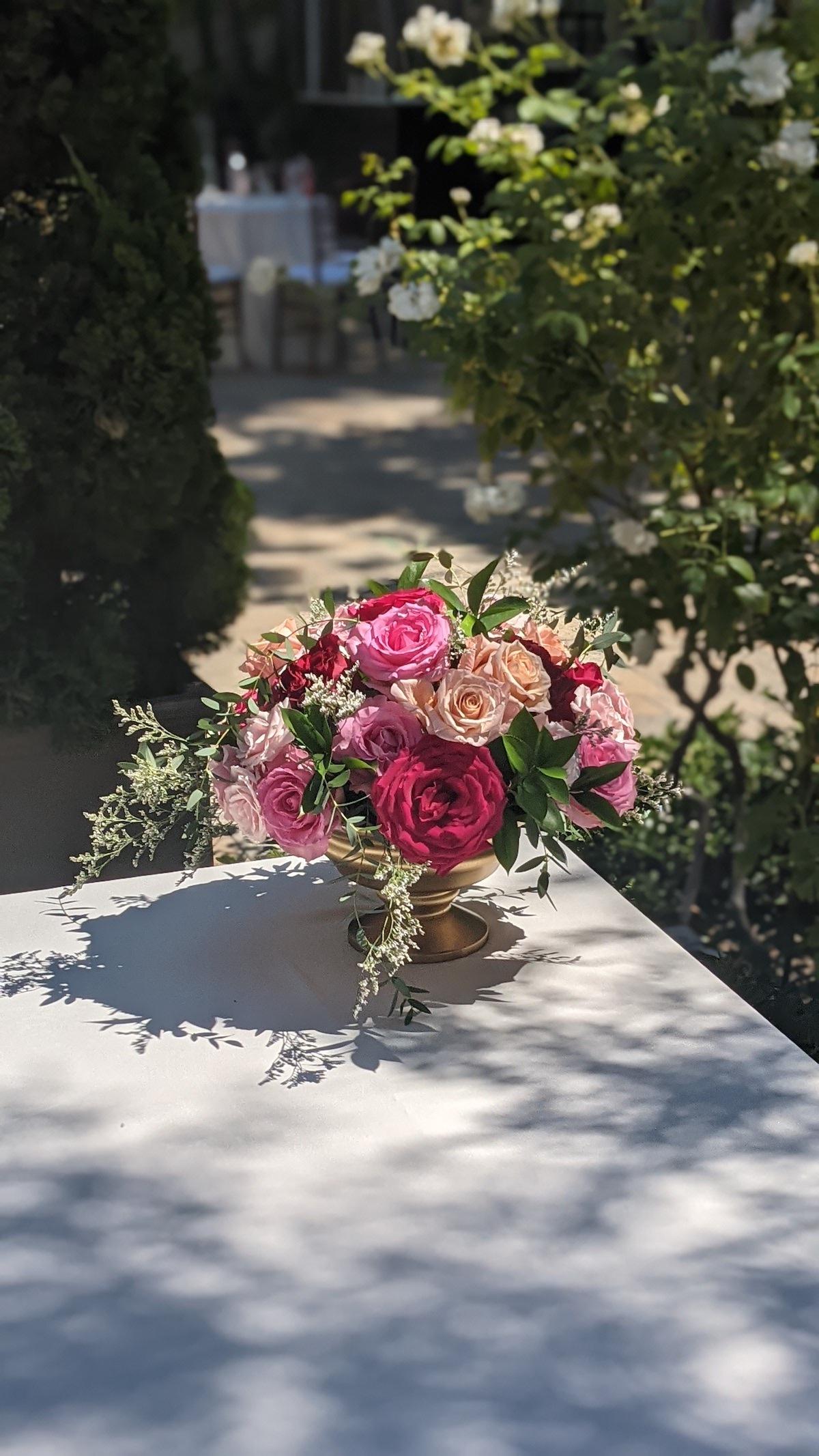 Greeting flowers