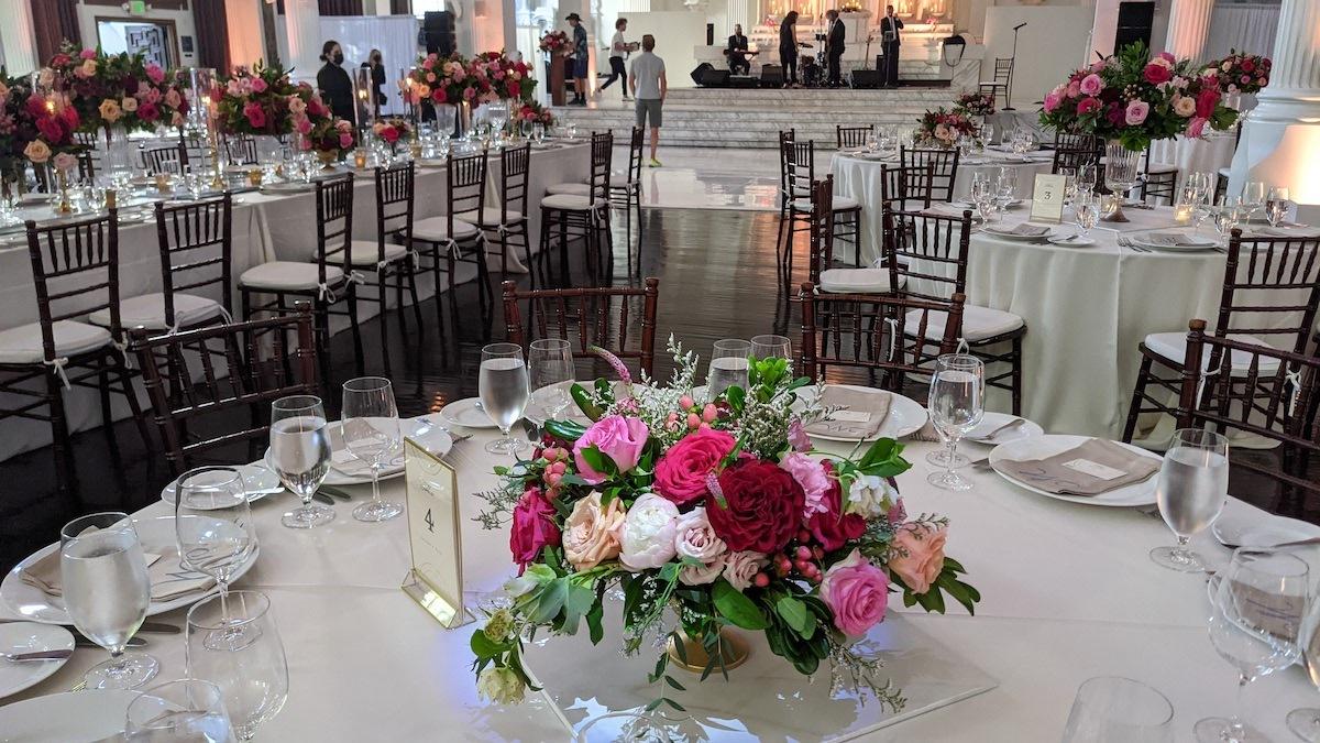 Vibiana Flowers room