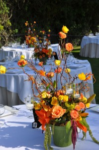 flowerduet-orange-summer-sunset-centerpiece