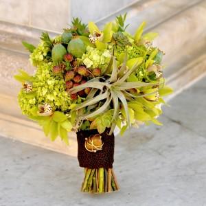 flowerduet-green-tillandsia-bouquet